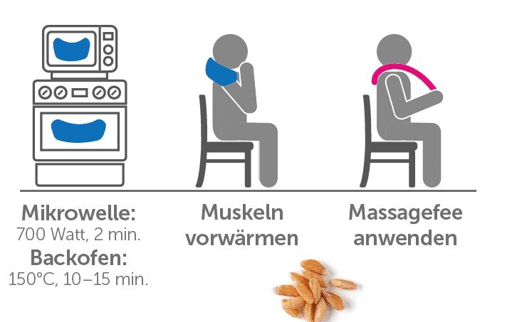 Kombi-Angebot: MassageFee Classic und unser Dinkelkissen zum Sonderpreis sichern